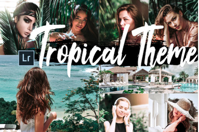 Neo Tropical Theme Desktop Lightroom Presets