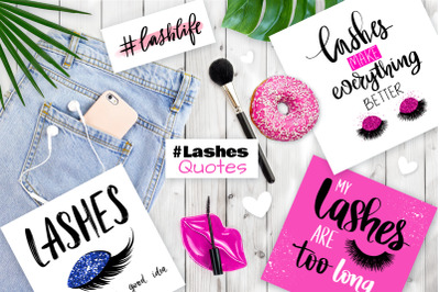 Lashes quotes for fashion girls.