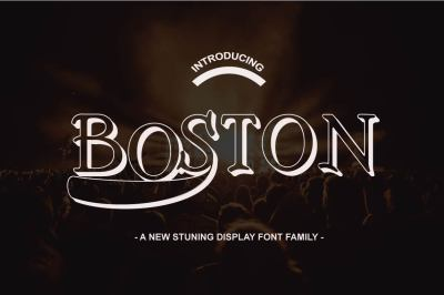 Boston Font Family