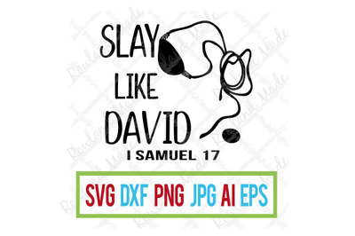 Slay Like David SVG Father's Day SVG