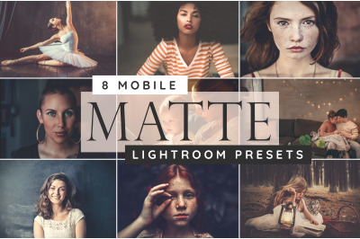 Lightroom mobile matte presets