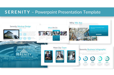 SERENITY - Powerpoint Presentation Template