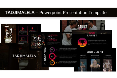 TADJIMALELA - Keynote Presentation Template