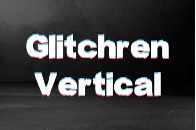 Glitchren Vertical