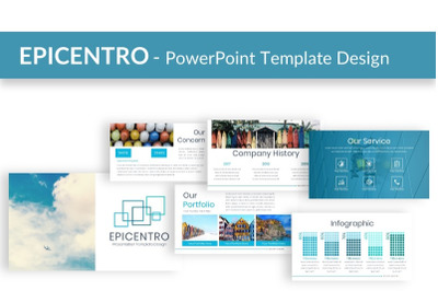 EPICENTRO - Powerpoint Presentation Template