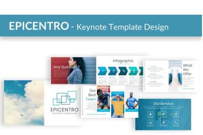 EPICENTRO - Keynote Presentation Template