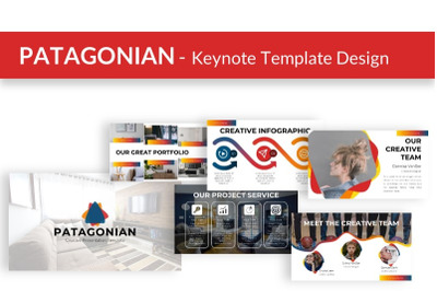 PATAGONIAN - Keynote Presentation Template