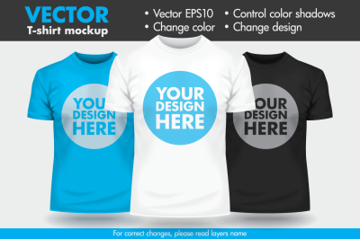 Vector T-shirt Man