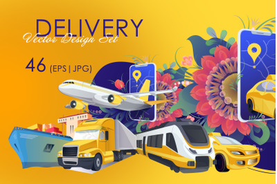 Delivery Vector Design Set