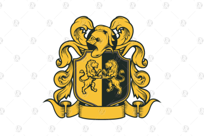 Royal Crest Coat of Arms