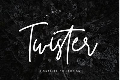 Twister Handwritten Script