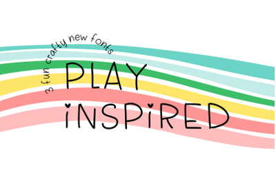 Play Inspired Font & More