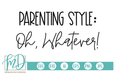 Parenting Style SVG