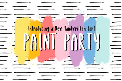 Paint Party + Extras
