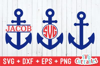 Anchor Set | Summer | SVG Cut File