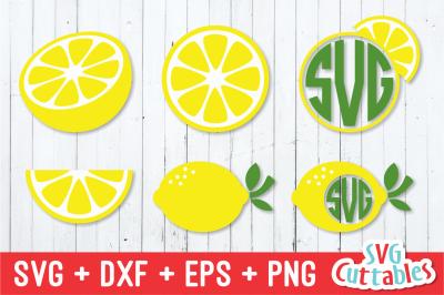 Lemon Set | Summer | SVG Cut File