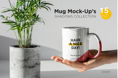 Mug Mock-Up's Shadows Collection