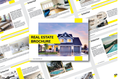 Real Estate Brochure / Booklet/ Magaszine Template
