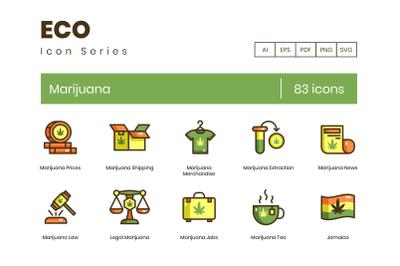83 Marijuana Icons