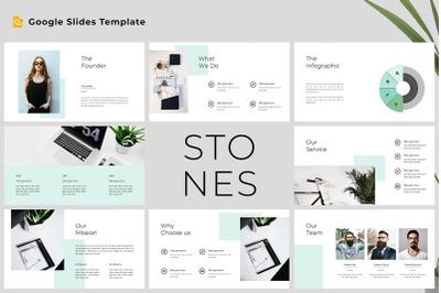Stones - Modern & Clean Google Slides Template