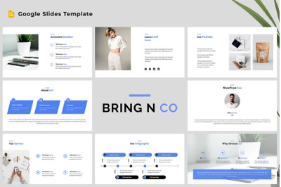 Bring N Co - Corporate Google Slides Template