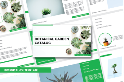 Botanical Garden Google Slide Template