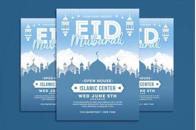 Eid Mubarak Flyer