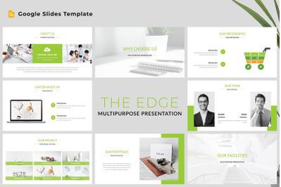 The Edge - Multipurpose Google Slides Template