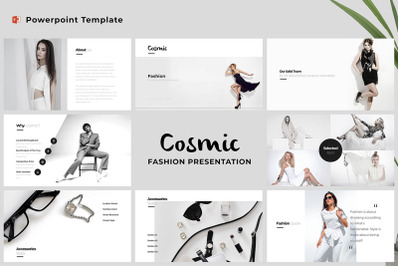 Cosmic - Fashion Powerpoint Template