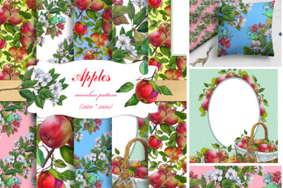 APPLES Seamless Patterns