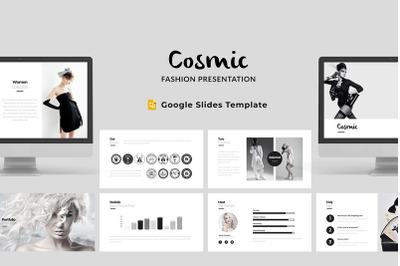 Cosmic - Fashion Google Slides Template