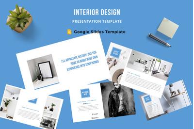 Interior Design Google Slides Template