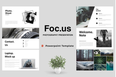 Focus - Photography Powerpoint Template