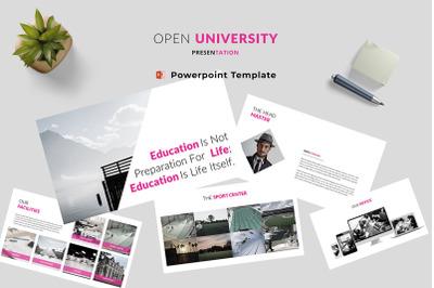 Open University Powerpoint Template