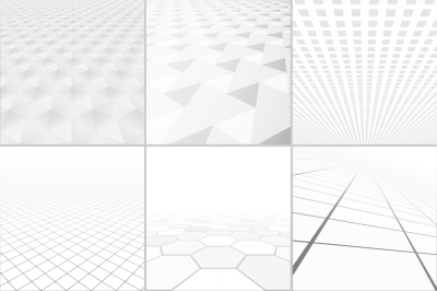 Abstract backgrounds collection.