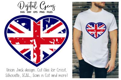 Union Jack heart, UK flag design