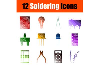 Soldering Icon Set