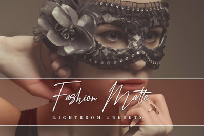 Fashion Matte Lightroom Presets