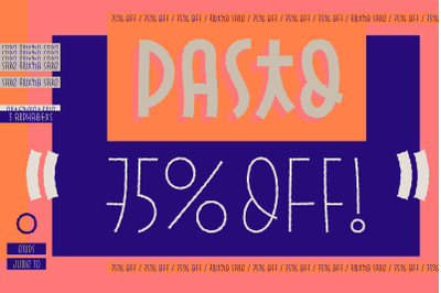 Pasto 30%OFF Halloween Sale!