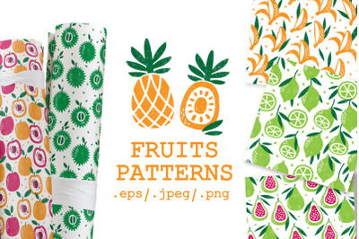 20 FRUITS PATTERNS