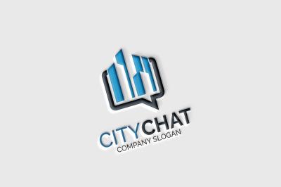 City Chat Logo