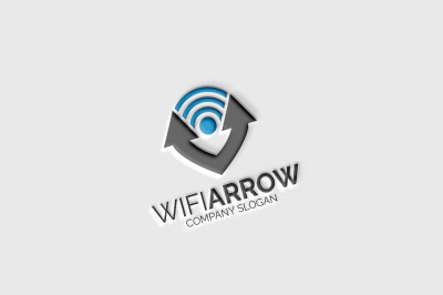 Wifi Arrow Logo