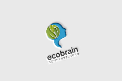 Eco Brain Logo
