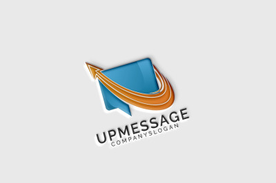 Up Message Logo