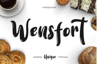 Wensfort Font
