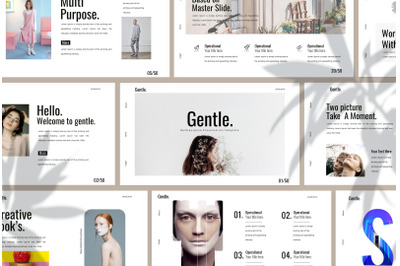 Gentle Powerpoint Template