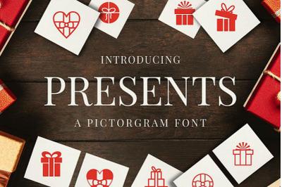 Presents - Pictorgram Font