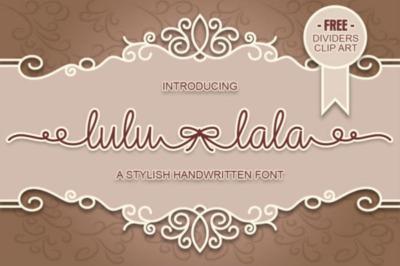 Lulu lala font