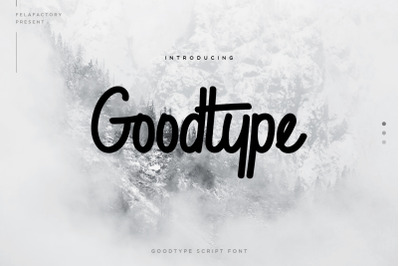 Goodtype Font