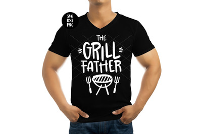 The Grill Father, Father's Day SVG